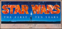 Star Wars: The First Ten Years (The Mind's Eye Press, 1987). Autographed & Numbered 10th Anniversary Poster (16.5&qu...