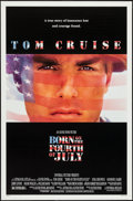 "Movie Posters:War, Born on the Fourth of July (Universal, 1989). One Sheet (27"" X 41"")DS. War.. ..."