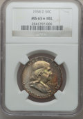 Franklin Half Dollars, 1958-D 50C MS65 ★ Full Bell Lines NGC. NGC Census: (484/244). PCGSPopulation (1485/732). ...