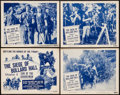 """Movie Posters:Serial, Son of the Guardsman (Columbia, 1946). Lobby Cards (4) (11"""" X 14"""") Chapter 4 --""""The Seige of Bullard Hall."""" Serial.. ... (Total: 4 Items)"""