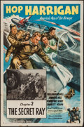 """Movie Posters:Serial, Hop Harrigan (Columbia, 1946). One Sheet (27"""" X 41"""") Chapter 2 -- """"The Secret Ray."""" Serial.. ..."""