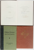 Books:Americana & American History, [Carl Hertzog]. Group of Three Books Published by Hertzog, OneSigned/Limited. State National is limited to 220 numbered...(Total: 3 Items)