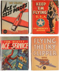 Big Little Book:Miscellaneous, Big Little Book Flying-Related Group (Whitman, 1930s) Condition:Average VF+.... (Total: 4 Comic Books)