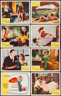 "Movie Posters:Drama, And God Created Woman (Cocinor, 1956). Lobby Card Set of 8 (11"" X 14"") & Photos (11) (8"" X 10""). Drama.. ... (Total: 19 Items)"