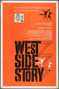"Movie Posters:Academy Award Winners, West Side Story (United Artists, 1961). One Sheet (27"" X 41""),Lobby Card Set of 8 (11"" X 14""), & Uncut Pressbook (11"" X17""... (Total: 10 Items)"