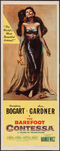 "Movie Posters:Drama, The Barefoot Contessa (United Artists, 1954). Insert (14"" X 36""). Drama.. ..."
