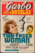 """Movie Posters:Comedy, Two-Faced Woman (MGM, 1941). One Sheet (27"""" X 41"""") Style C. Comedy.. ..."""