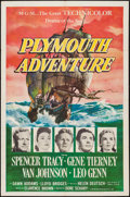 """Movie Posters:Adventure, Plymouth Adventure (MGM, 1952). One Sheet (27"""" X 41""""). Adventure....."""