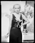 "Movie Posters:Miscellaneous, Carole Lombard (Paramount, early 1930s). Kodak Nitrate Negative (7.75"" X 9.75""). Miscellaneous.. ..."