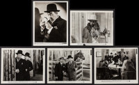 """Charlie Chan at the Race Track (20th Century Fox, 1936). Portrait and Scene Photos (2) (8"""" X 10.25""""), (2) (8&q..."""