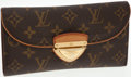 Luxury Accessories:Accessories, Louis Vuitton Classic Monogram Canvas Eugenie Wallet. ...