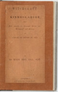 Books:World History, [Witchcraft]. Robert Burns-Begg. Witchcraft in Kinross-shire, Being Full Details of Criminal Trials for Witchcraft and S...