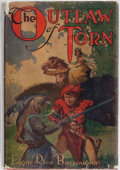 Books:Science Fiction & Fantasy, Edgar Rice Burroughs. The Outlaw of Torn. Grosset & Dunlap, 1928. Reprint edition. Light rubbing and toning to c...
