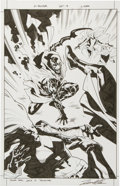 Original Comic Art:Splash Pages, Leonard Kirk X-Factor #227 Page 9 Original Art (Marvel,2012)....