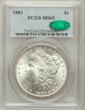 1883 $1 MS65 PCGS. CAC. PCGS Population: (4631/1258). NGC Census: (4036/953). CDN: $130 Whsle. Bid for problem-free NGC/...