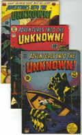 Golden Age (1938-1955):Horror, Adventures Into The Unknown Group (ACG, 1949-53) Condition: AverageGD/VG.... (Total: 7 Comic Books)