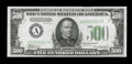 Small Size:Federal Reserve Notes, Fr. 2201-A $500 1934 Federal Reserve Note. Extremely Fine-About Uncirculated.. ...