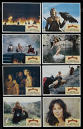 """Movie Posters:Fantasy, The Beastmaster (MGM/UA, 1982). Lobby Card Set of 8 (11"""" X 14"""").Fantasy Adventure. Starring Marc Singer, Tanya Roberts, Rip...(Total: 8 Items)"""