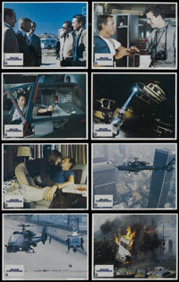 "Blue Thunder (Columbia, 1983). Lobby Card Set of 8 (11"" X 14""). Crime Action. Starring Roy Scheider, Warren Oa..."