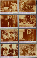 """Movie Posters:Crime, Bonnie and Clyde (Warner Brothers, 1967). Lobby Card Set of 8 (11""""X 14""""). Crime. Directed by Arthur Penn. Starring Warren B...(Total: 8 Items)"""