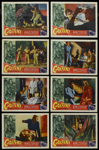 "Caltiki, the Immortal Monster (Allied Artists, 1960). Lobby Card Set of 8 (11"" X 14""). Science Fiction. Starri..."
