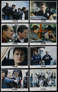 """Movie Posters:Action, Colors (Orion, 1988). Lobby Card Set of 8 (11"""" X 14""""). Crime Drama. Starring Sean Penn, Robert Duvall, Maria Conchita Alonso... (Total: 8 Items)"""