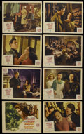 """Movie Posters:Mystery, Daughter of Darkness (Paramount, 1948). Lobby Card Set of 8 (11"""" X 14""""). Drama. Starring Anne Crawford, Maxwell Reed, Siobha... (Total: 8 Items)"""