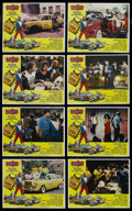 """Movie Posters:Comedy, D.C. Cab (Universal, 1983). Lobby Card Set of 8 (11"""" X 14""""). Action Comedy. Starring Adam Baldwin, Charlie Barnett, Irene Ca... (Total: 8 Items)"""