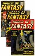 Silver Age (1956-1969):Horror, World of Fantasy Group (Atlas, 1958-59).... (Total: 3 Comic Books)