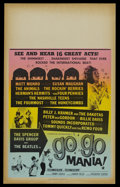 "Movie Posters:Musical, Go Go Mania (AIP, 1965). Window Card (14"" X 22""). Music. Starring The Beatles, Matt Munro, The Animals, Herman's Hermits and..."
