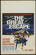 "Movie Posters:Adventure, The Great Escape (United Artists, 1963). Window Card (14"" X 22"").War. Starring Steve McQueen, James Garner, James Coburn an..."