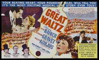 "The Great Waltz (MGM, 1938). Herald (5.75"" X 6.75""). Musical Drama. Starring Luise Rainer, Fernand Gravet, Mil..."
