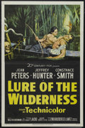 "Movie Posters:Adventure, Lure of the Wilderness (20th Century Fox, 1952). One Sheet (27"" X41""). Thriller. Starring Jean Peters, Jeffrey Hunter, Cons..."