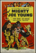 "Movie Posters:Adventure, Mighty Joe Young (RKO, R-1953). One Sheet (27"" X 41""). Adventure.Starring Terry Moore, Ben Johnson, Robert Armstrong, Frank..."