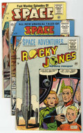Golden Age (1938-1955):Science Fiction, Space Adventures Group (Charlton, 1955-78) Condition: AverageFN+.... (Total: 11 Comic Books)