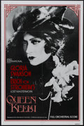 "Movie Posters:Drama, Queen Kelly (Kino International, R-1985). One Sheet (27"" X 41""). Drama. Starring Gloria Swanson, Seena Owen, Walter Byron, W..."