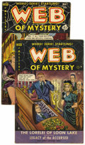 Golden Age (1938-1955):Horror, Web of Mystery #2 and 18 (Ace, 1951-53).... (Total: 2 Comic Books)