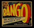 """Movie Posters:Adventure, Rango (Paramount, 1931). Title Lobby Card (11"""" X 14""""). Adventure.Directed by Ernest B. Schoedsack. Starring Claude King, Do..."""