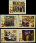 """Movie Posters:Comedy, Road to Rio (Paramount, 1948). Lobby Cards (5) (11"""" X 14""""). Comedy.Starring Bing Crosby, Bob Hope, Dorothy Lamour, Gale Son... (Total:5 Items)"""