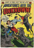 Golden Age (1938-1955):Horror, Adventures Into The Unknown #18 (ACG, 1951) Condition: FN/VF....