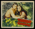 "Movie Posters:Action, Tarzan Triumphs (RKO, 1943). Lobby Card (11"" X 14""). ActionAdventure. Starring Johnny Weissmuller, Frances Gifford, Johnny ..."