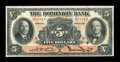 Canadian Currency: , Toronto, ONT- The Dominion Bank $5 Feb. 1, 1931 Ch. 220-24-02. ...