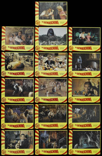 """The Time Machine (MGM, R-1970s). German Lobby Card Set of 16 (9"""" X 11.75""""). Sci-Fi Adventure. Starring Rod Tay..."""