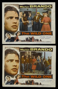 "Movie Posters:Drama, The Wild One (Columbia, 1953). Lobby Cards (2) (11"" X 14""). Drama. Starring Marlon Brando, Mary Murphy, Robert Keith, Lee Ma... (Total: 2 Items)"