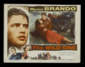 "Movie Posters:Drama, The Wild One (Columbia, 1953). Lobby Card (11"" X 14""). Drama. Starring Marlon Brando, Mary Murphy, Robert Keith, Lee Marvin,..."