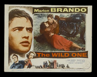 "The Wild One (Columbia, 1953). Lobby Card (11"" X 14""). Drama. Starring Marlon Brando, Mary Murphy, Robert Keit..."
