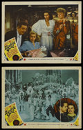 "Movie Posters:Musical, Ziegfeld Girl (MGM, 1941). Lobby Cards (2) (11"" X 14""). Musical Drama. Starring James Stewart, Judy Garland, Hedy Lamarr, La... (Total: 2 Items)"