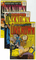 Silver Age (1956-1969):Horror, Adventures Into The Unknown Group (ACG, 1958-66) Condition: AverageFN+.... (Total: 11 Comic Books)