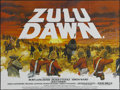 "Movie Posters:Adventure, Zulu Dawn (American Cinema, 1979). British Quad (30"" X 40"").Historical Drama. Starring Burt Lancaster, Peter O'Toole, Simon..."