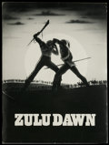 Movie Posters:Adventure, Zulu Dawn (American Cinema, 1979). Presskit (Multiple Pages).Historical Drama. Starring Burt Lancaster, Peter O'Toole, Simo...(Total: 2 Items)